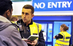 UK Border Agency raid