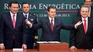 Enrique Pena Nieto, Miguel Angel Osorio Chong, Pedro Joaquin Coldwell
